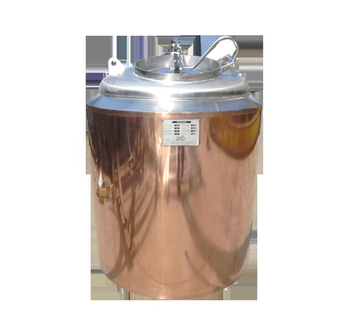 包铜清酒罐