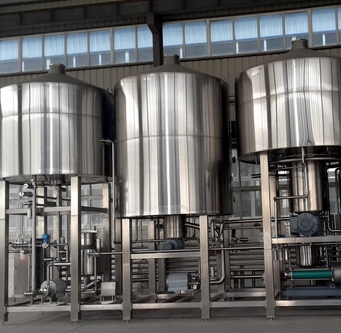 5000L啤酒糖化设备