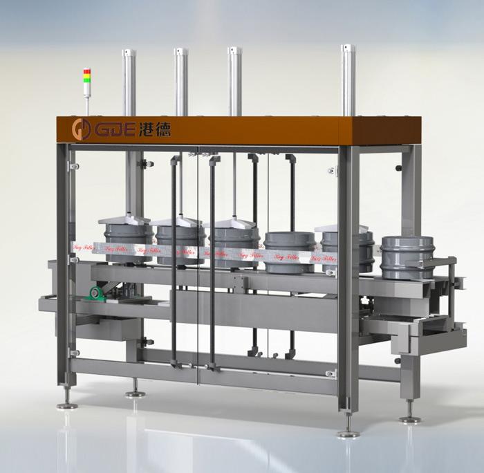 直线式五工位啤酒桶清洗灌装机产品描述