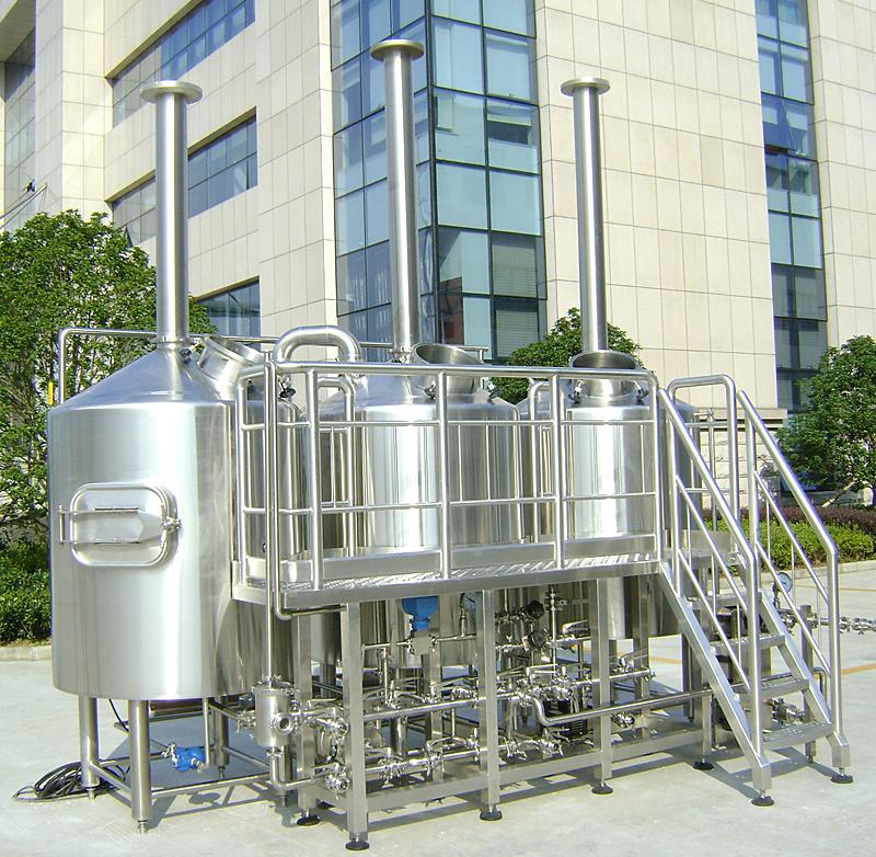 500l啤酒糖化设备